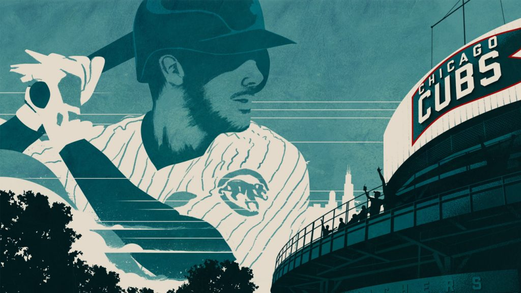 Chicago Cubs 2019 Art Sunday Punch